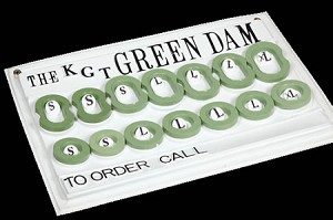 KGT Reusable Green Dam (Individual Pieces)