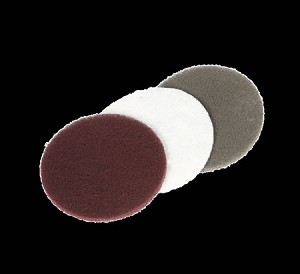 Maroon Scotch Brite Finishing Pads (Package of 3)