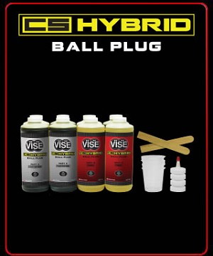 Vise CS Hybrid Ball Plug: 2 Gallon Kit